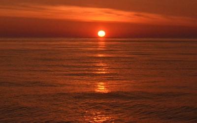 Sunset on Jeffreys