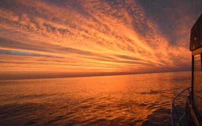Sunrise on Jeffreys